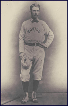 Albert G. Spalding, Pitcher, Boston. Click to enlarge.