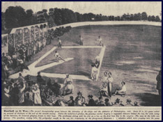 Baseball As It Was. Click to enlarge.