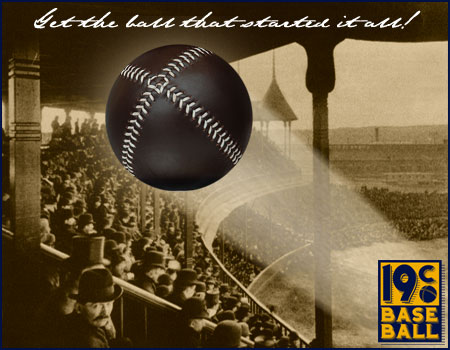 Get the ball that started it all! Only at 19cbaseball.com.
